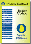 Fingerspelling 2: Student DVD