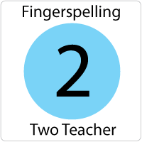 Fingerspelling 2 Online Teacher's Guide
