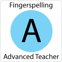Fingerspelling Advanced Online Teacher's Guide